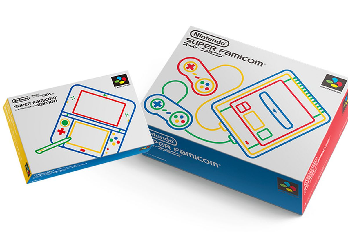 New 3DS LL is a perfect Super Famicom homage.