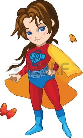 4,380 Super Girl Stock Illustrations, Cliparts And Royalty Free.