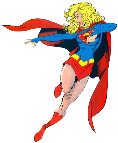 Supergirl clip art.