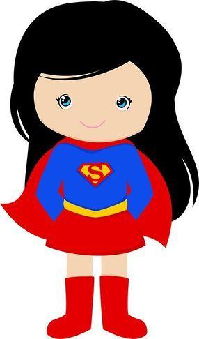 Supergirl clipart.