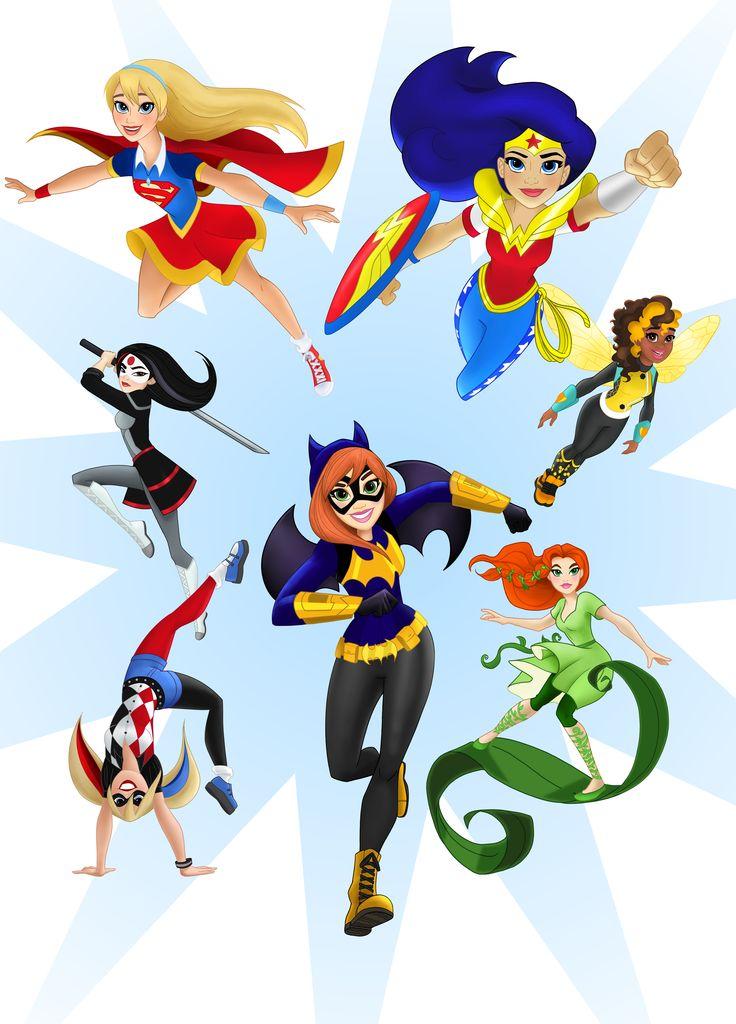 Dc Superhero Girls Clipart at GetDrawings.com.