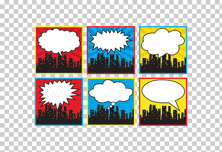 Superhero Skyline Cityscape, cityscape PNG clipart.