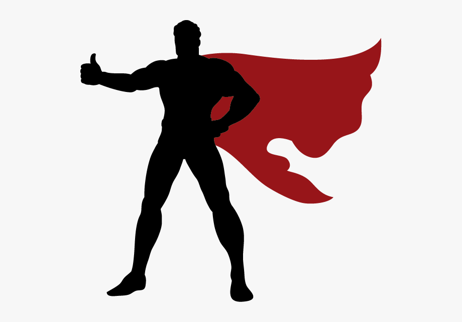 Superhero Clip Art Vector Graphics Silhouette Superman.