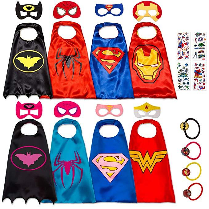 Amazon.com: 8 Superhero Capes for Kids.