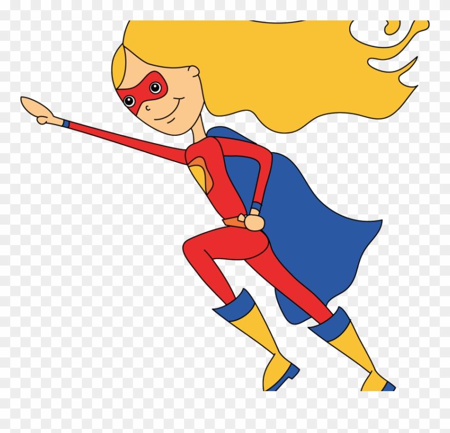 Impressive Idea Superhero Clip Art Girl Super Hero.