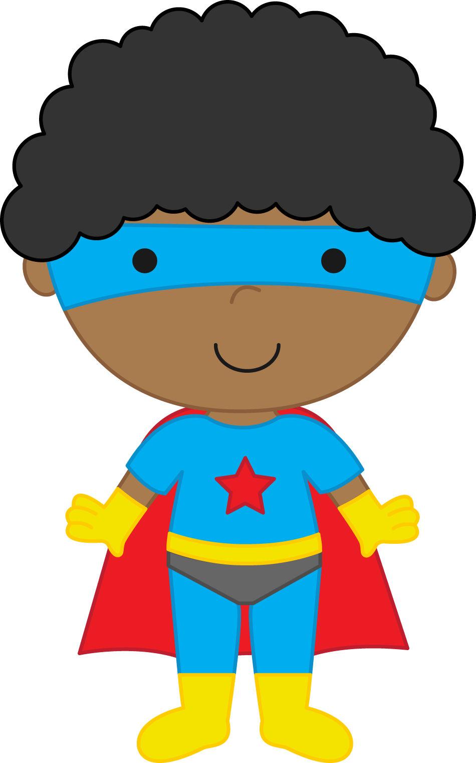 Super hero kid clipart 2 » Clipart Station.
