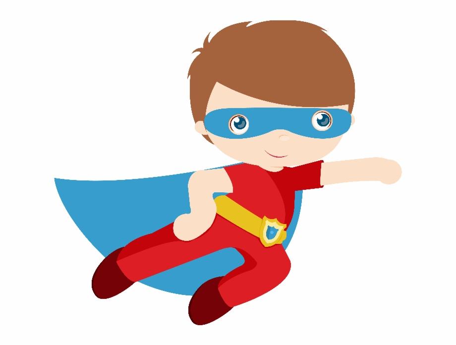 Kids Vector Superhero Clip Art Super Hero Png.