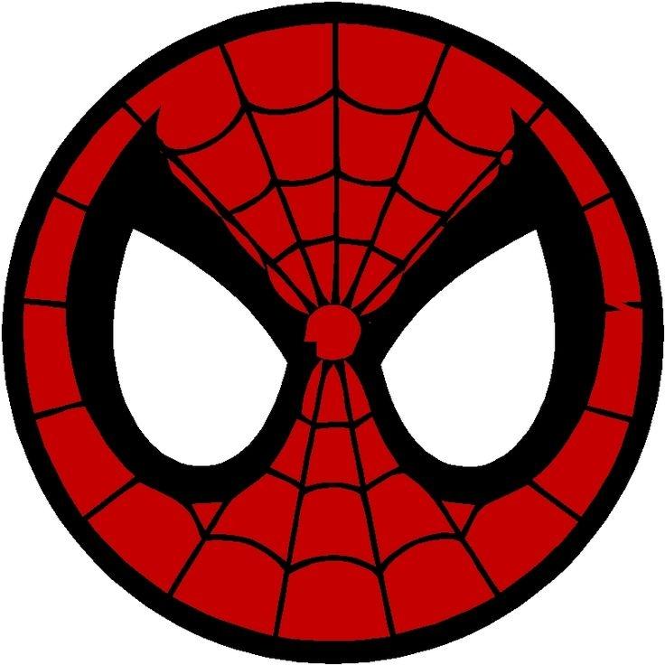 spiderman Superhero logos clipart free download jpg.