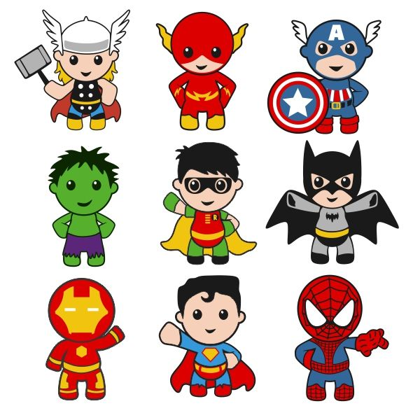 Super heroes bebes clipart clipart images gallery for free.