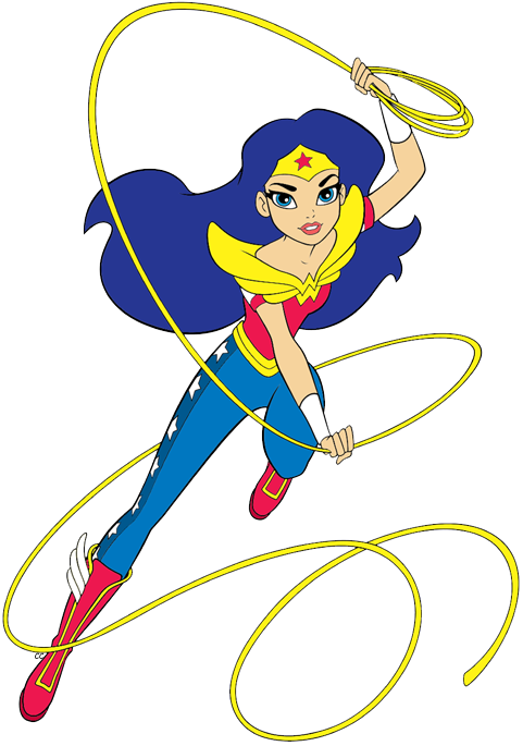DC Super Hero Girls Clip Art.