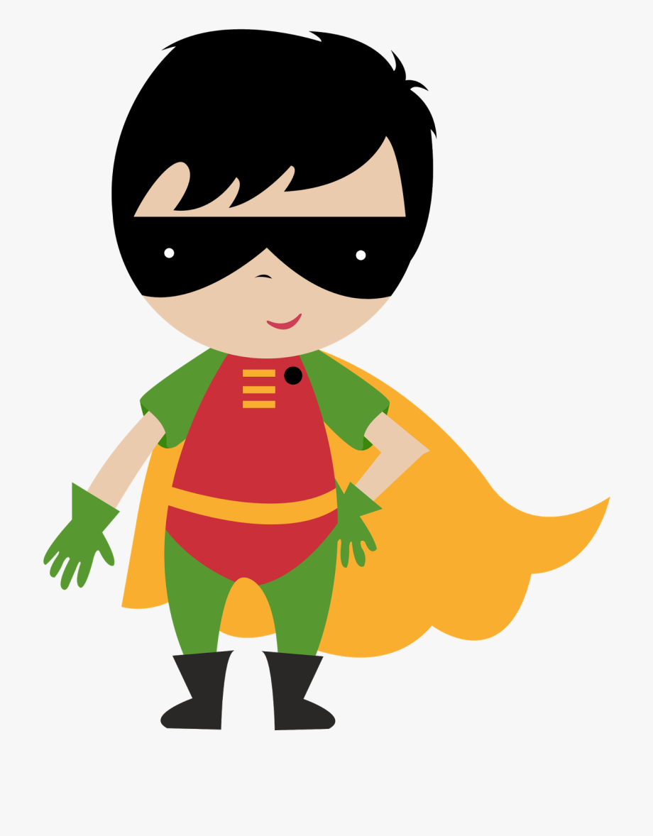 Baby Superheroes Clipart.
