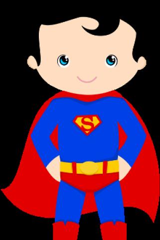 Super Man Baby Clipart.