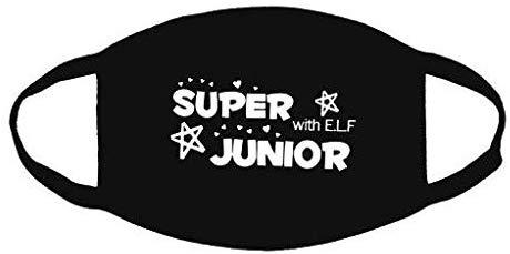 a protection mask against dust, Super Junior logo: Buy.
