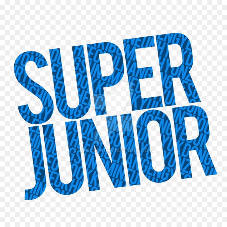 Super Junior Text png download.