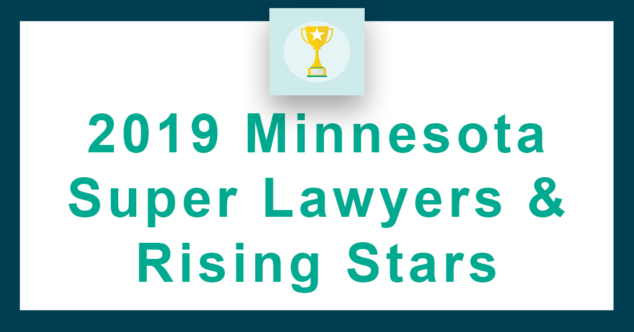 FMJ Minnesota Super Lawyers 2019.