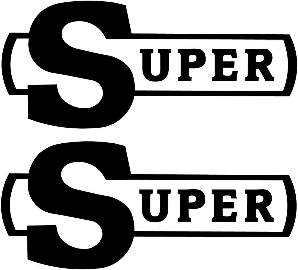 Scania Super logo Bodywork Sticker (Pair).