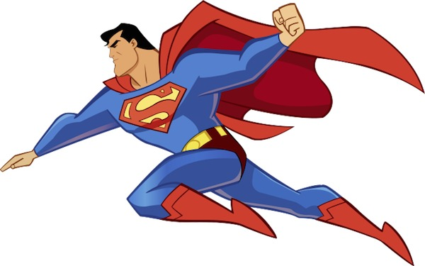 Superman Clipart.