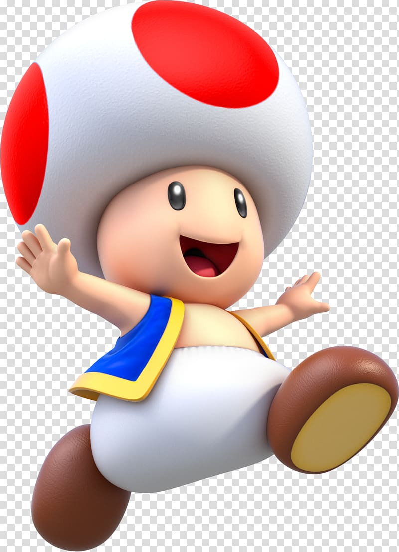 Toad Super Mario Bros. 2 New Super Mario Bros Super Mario 3D.