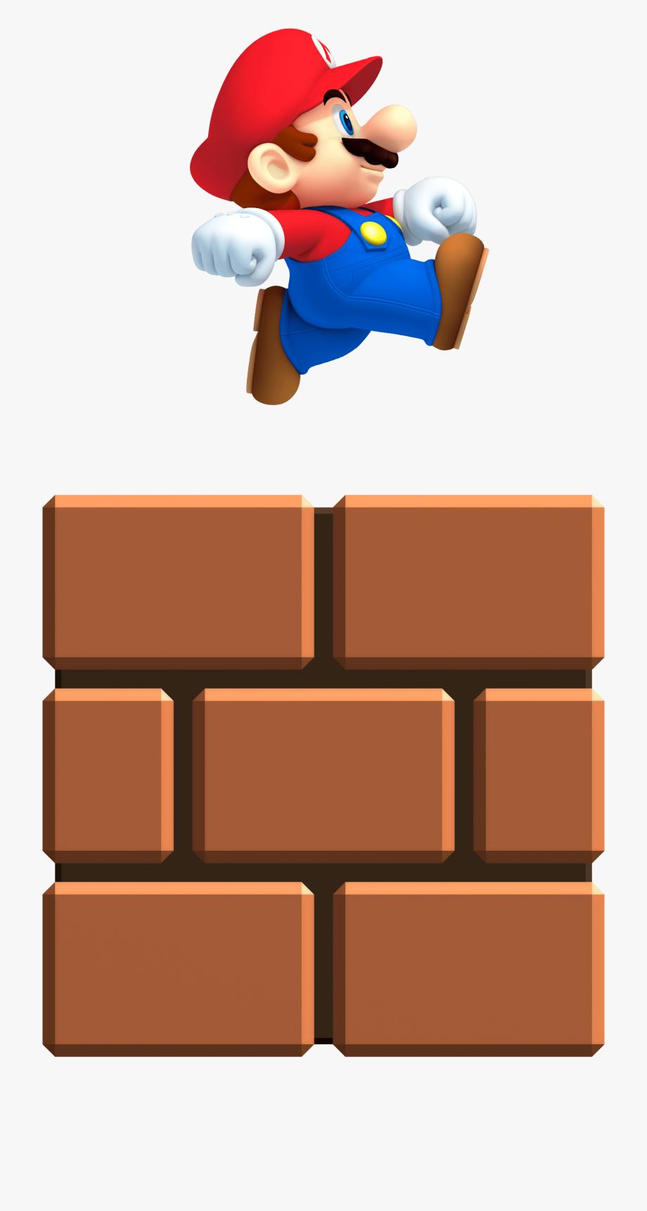 Brick Clipart Super Mario Pencil And In Color Brick.