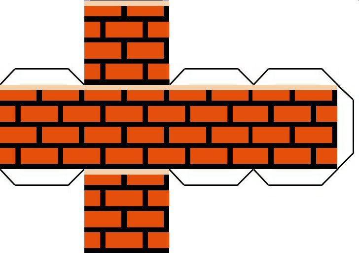 Super Mario Brick Printables.