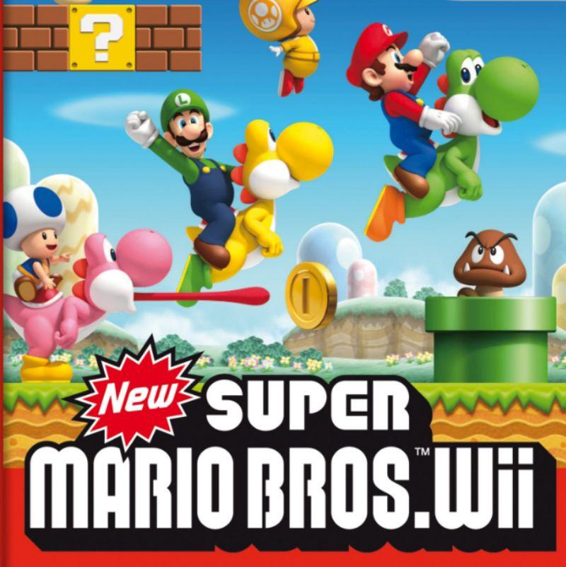 New Super Mario Bros Wii Font.