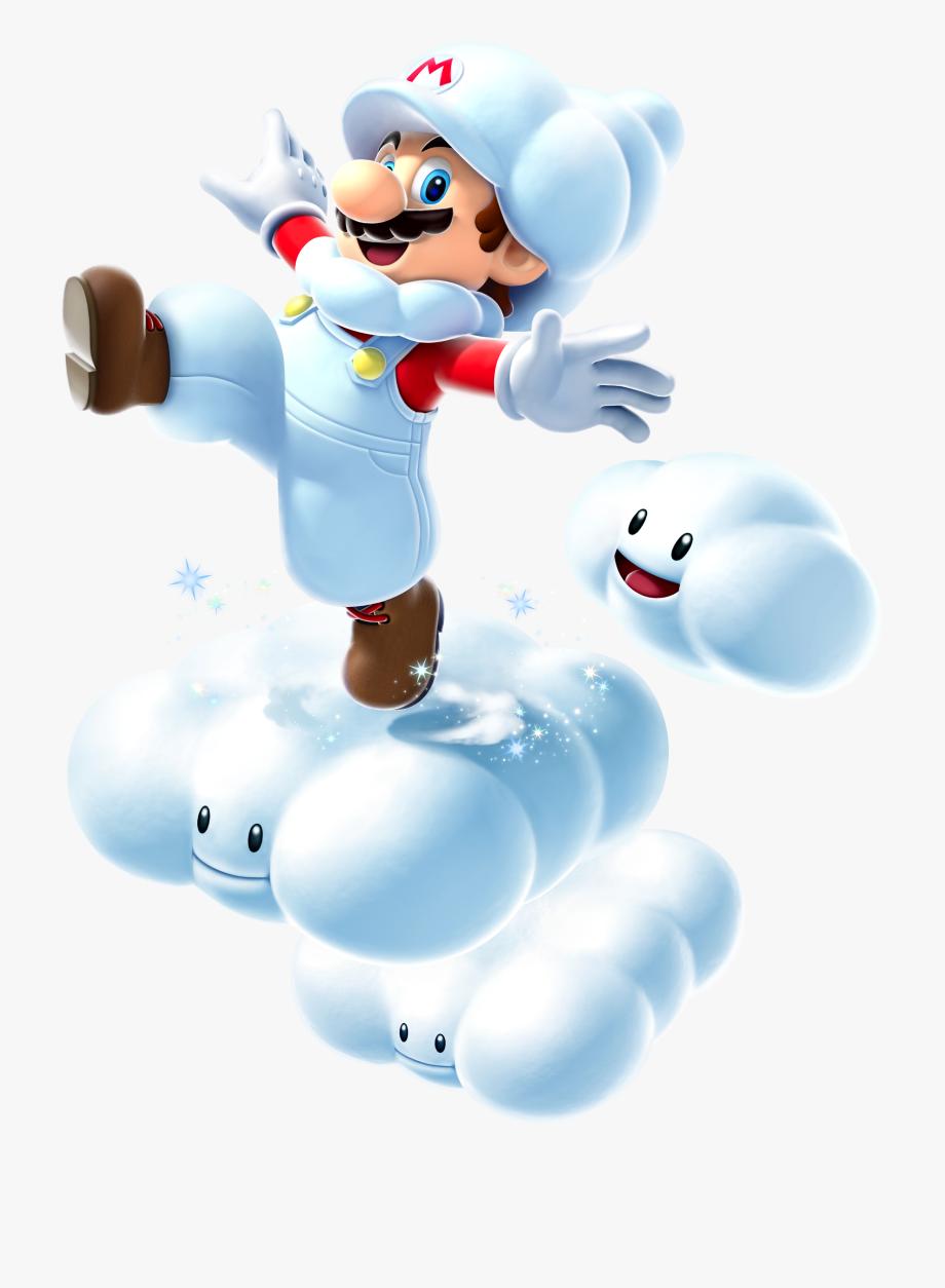 Cloud Mario.