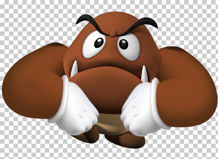 Bowser Super Mario Bros. Goomba Wii U, shy PNG clipart.