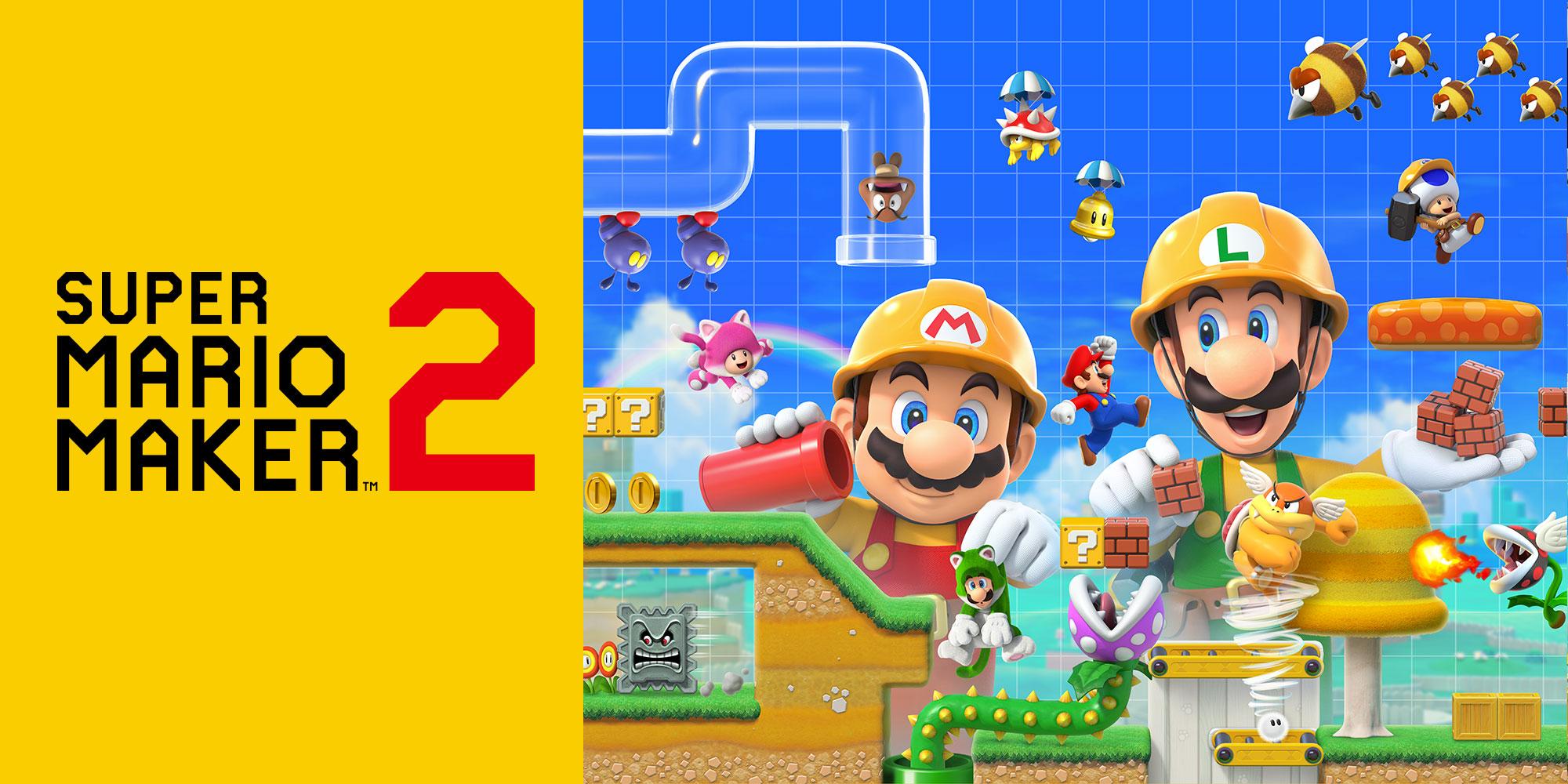Super Mario Maker 2 Gets Uploadable Courses Limit Increase.