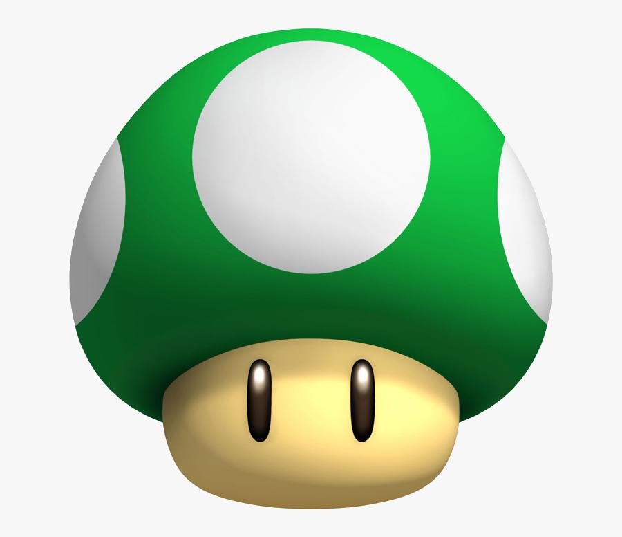 Transparent Mario Mushroom Png.
