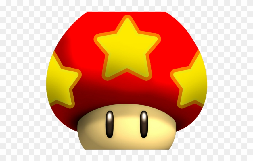 Nintendo Clipart Mario Mushroom.