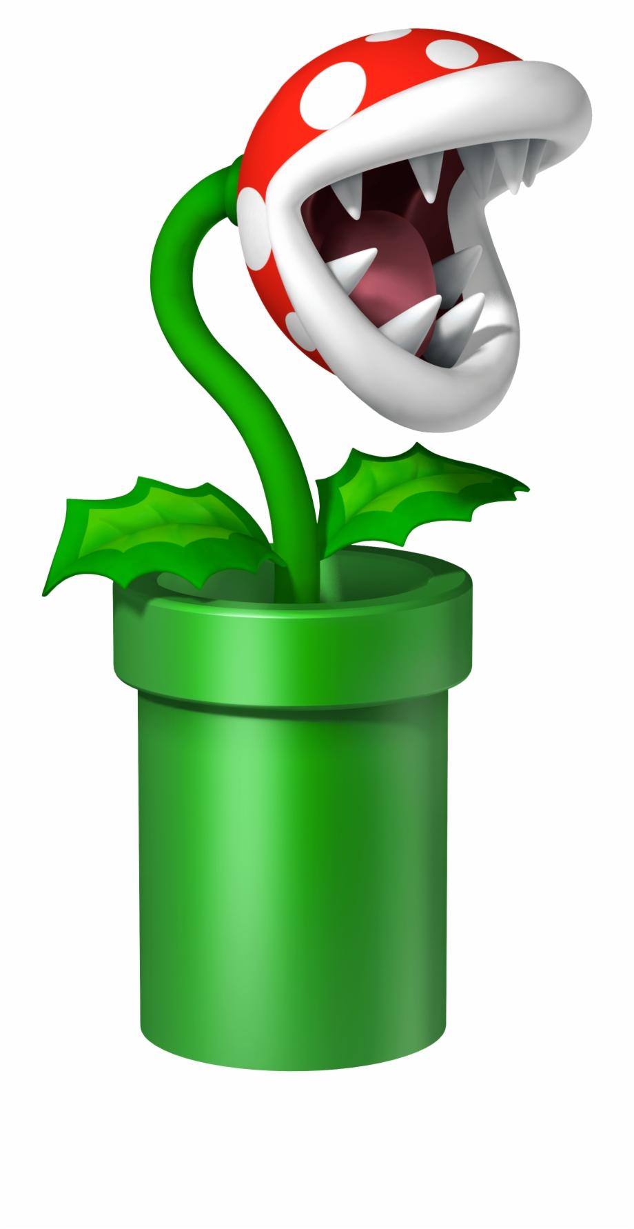 Download Free png Super Mario Piranha Plant Free PNG Images.