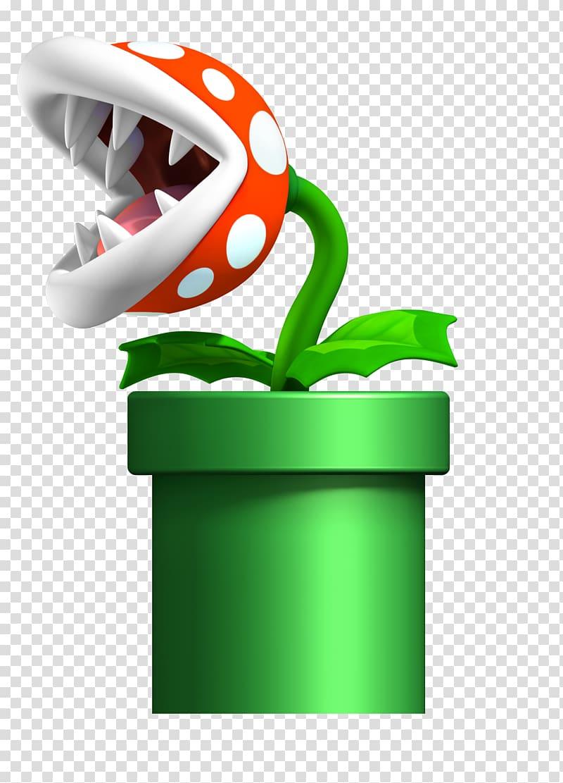 Nintendo Supermario plant , New Super Mario Bros. U New.