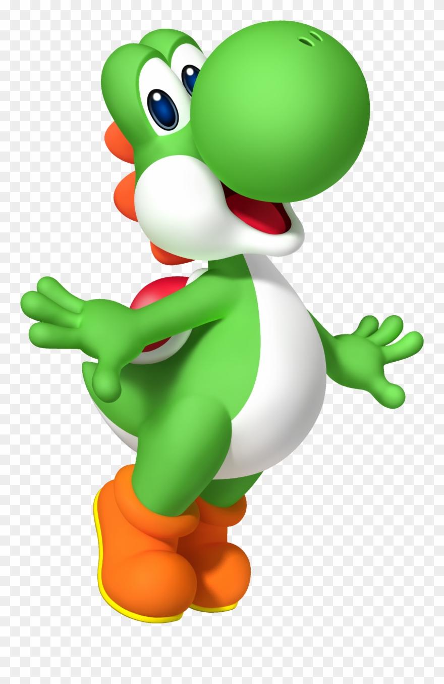 Super Mario Clipart Yoshi.