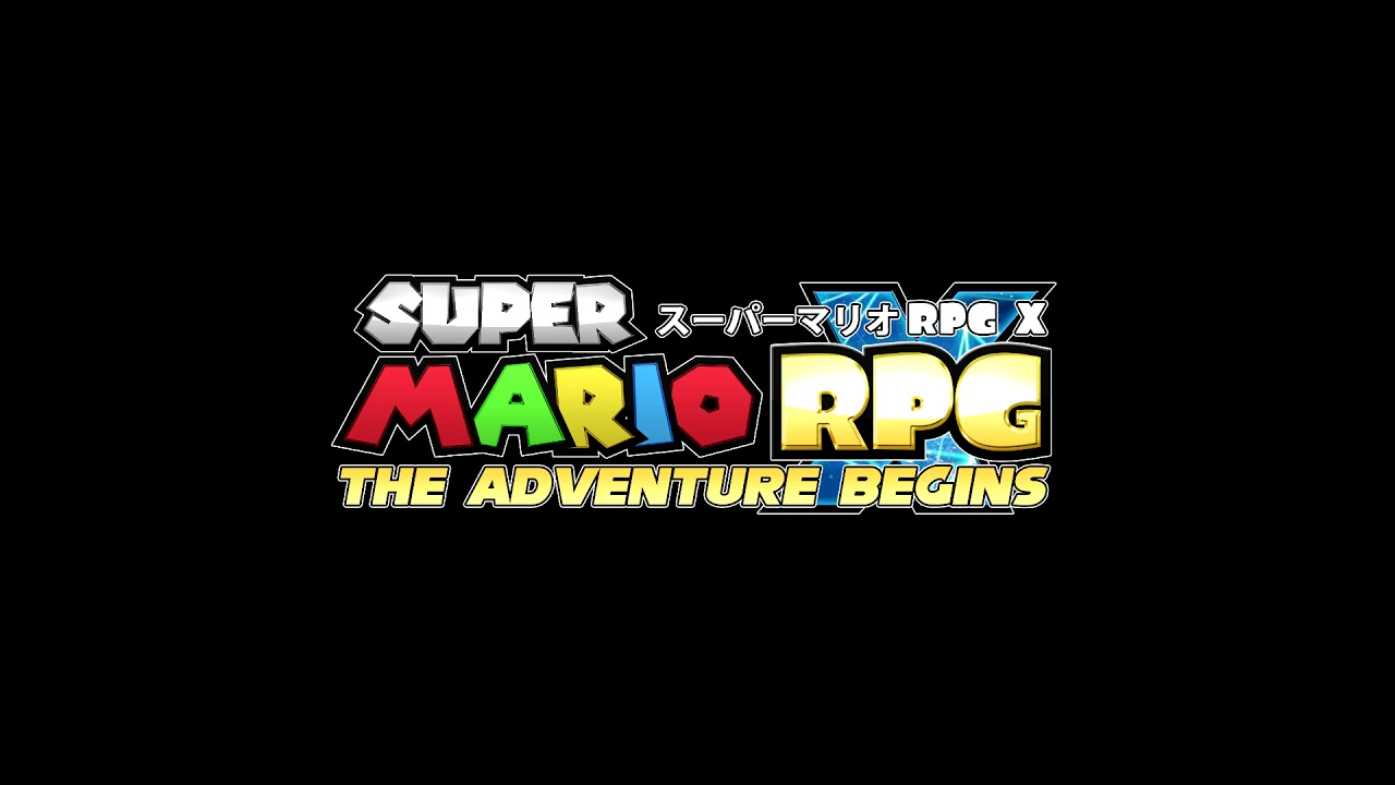 Super Mario RPG X: New Remastered Logo and Release Date.