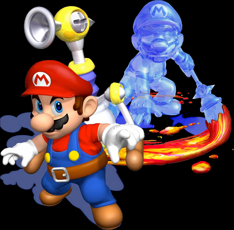 Mario Sunshine.