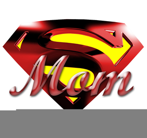 Super Mom Clipart.