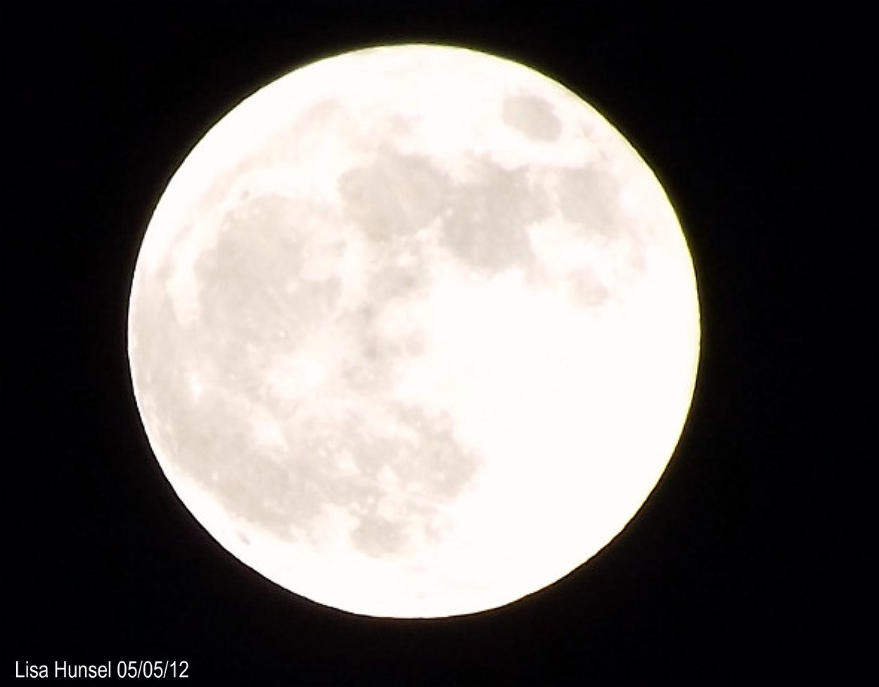 Pictures: May 5, 2012 Super Moon.