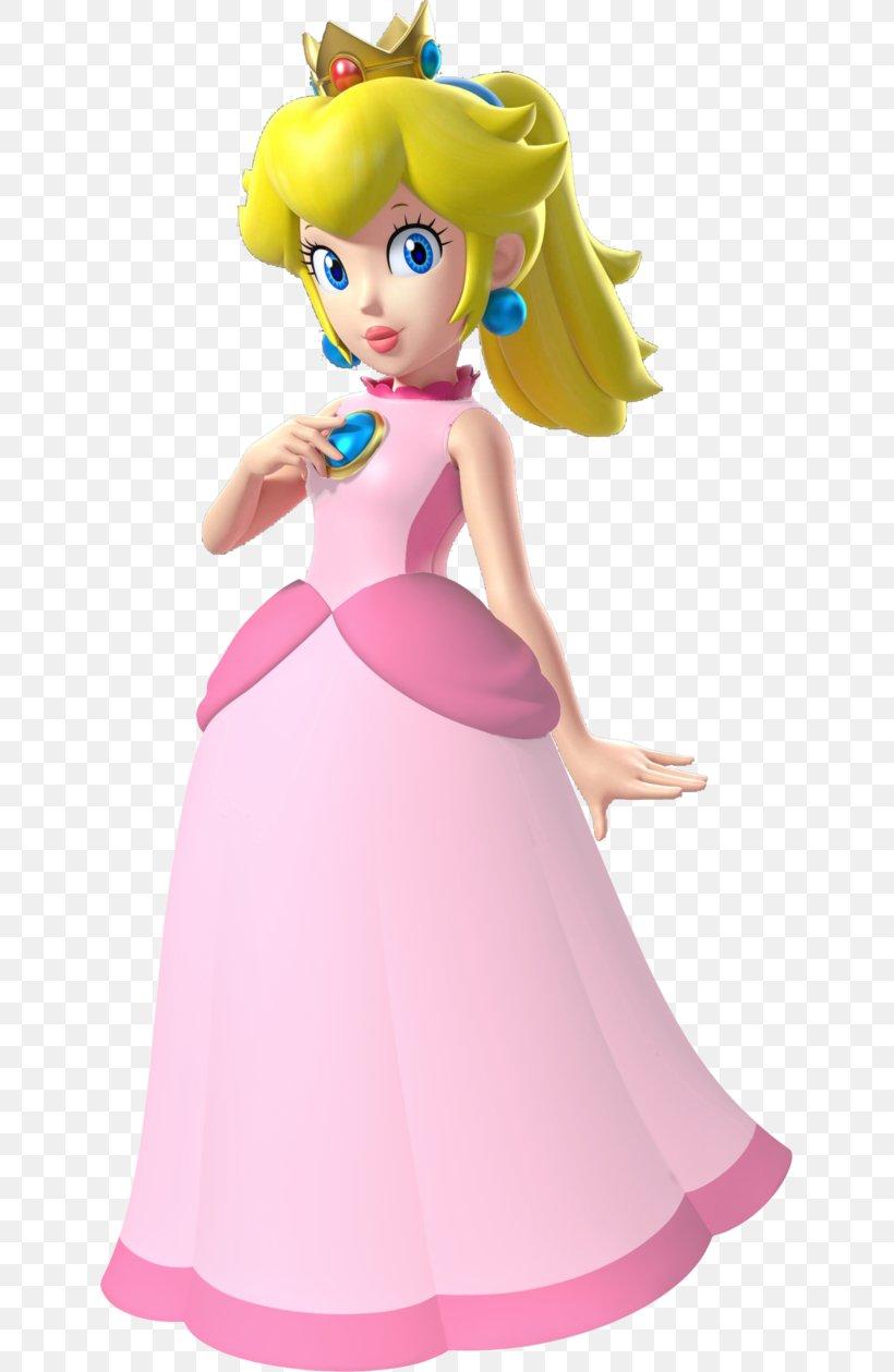 Mario Bros. Super Princess Peach Rosalina, PNG, 635x1259px.