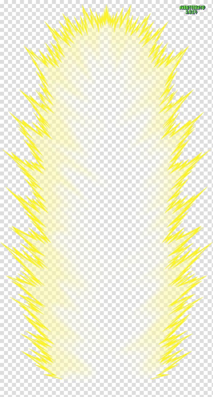 Overflowing aura illustration, Vegeta Pinkie Pie Super Saiya.