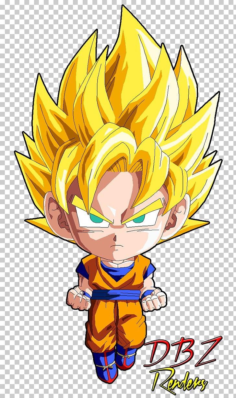 Goku Vegeta Gotenks Gogeta Super Saiyan, goku Chibi, Dragon.