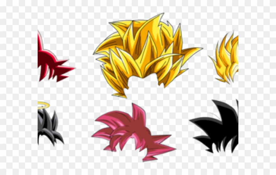 Goku Clipart Psd.