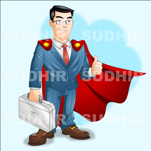 Super Salesman by sudhirsgosavi on DeviantArt.
