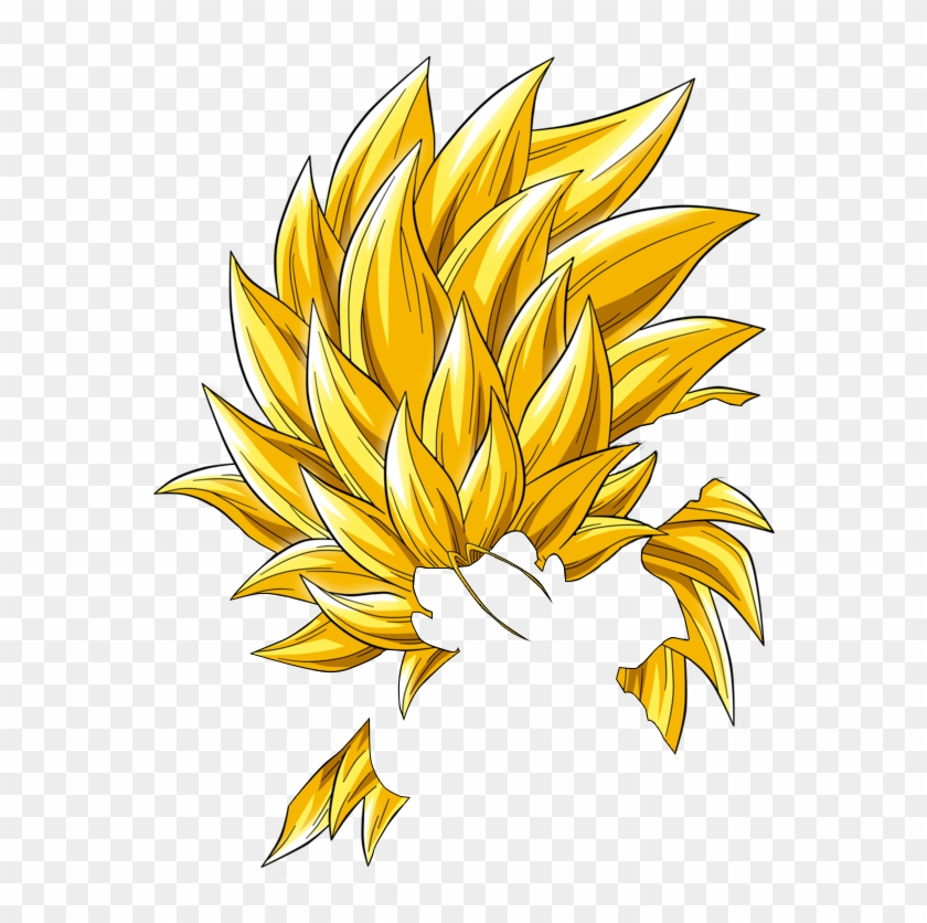 Super Saiyan Hair Png.