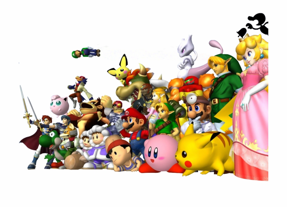 Super Smash Bros Png.