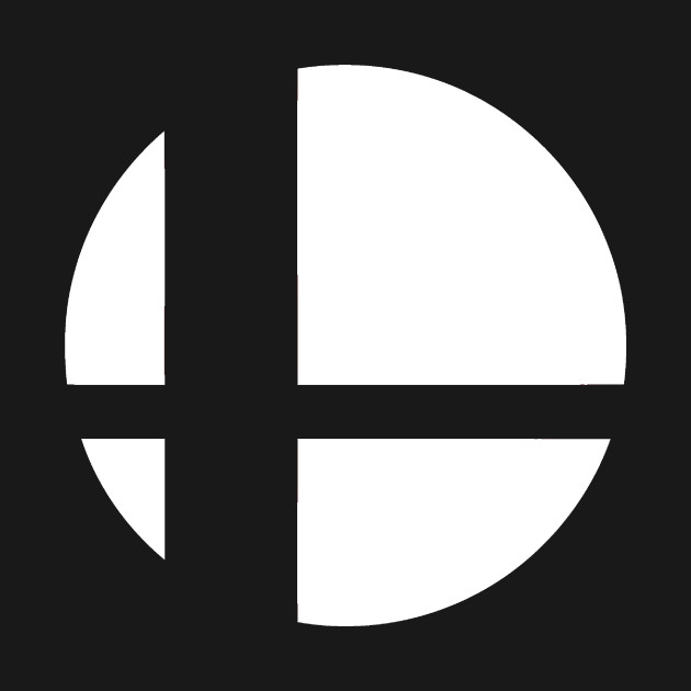 Super smash bros Logos.