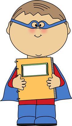 Super Student Clipart.