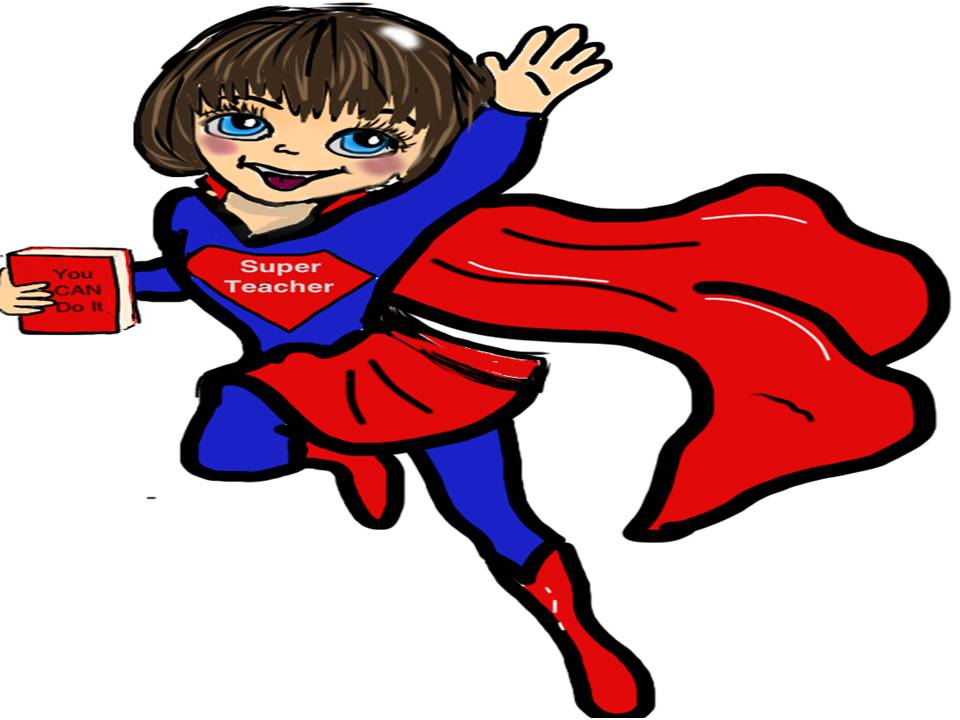 Super teacher clipart 1 » Clipart Station.