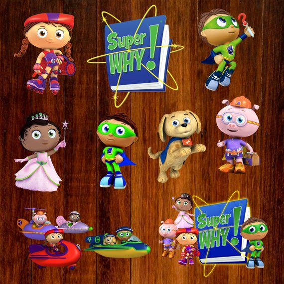Pin by Rebecca Baxendell on Super Why Birthday.