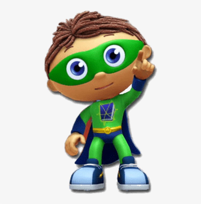 Free Png Download Super Why Holding Up Finger Clipart.