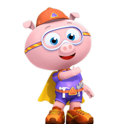 Super Why Fist Up transparent PNG.